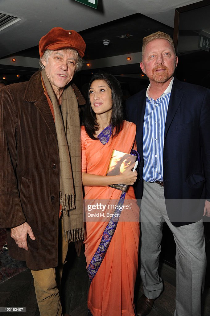 """""""The Shadow Of The Crescent Moon"""" By Fatima Bhutto - Book Launch Party : News Photo"""