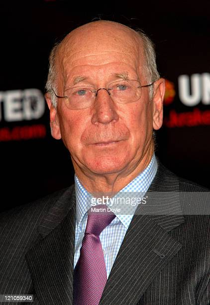 Sir Bobby Charlton during Manchester United Opus - Photocall at The Hospital in London, Great Britain.