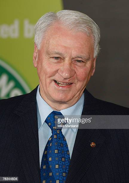 Sir Bobby Robson arrives at BBC Sports Personality of The Year at the NEC Birmingham on the 9 December