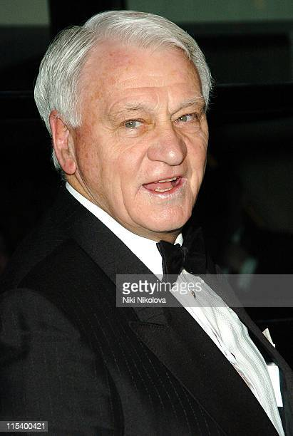 Sir Bobby Robson during FWA Tribute Dinner Awards Arrivals January 15 2006 at Savoy Hotel in London Great Britain