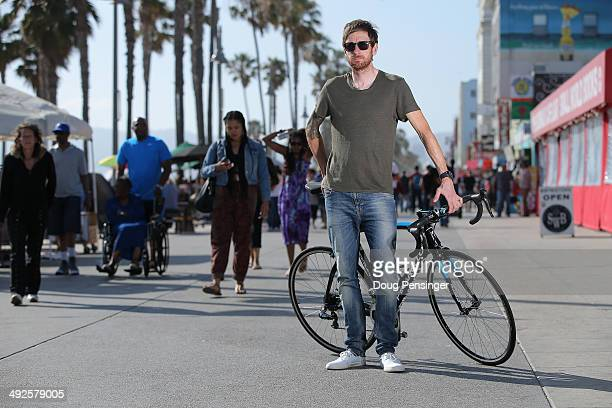 Sir Bradley Wiggins of Great Britain riding for Team Sky poses for a portrait after winning the 2014 Amgen Tour of California on May 19, 2014 in...