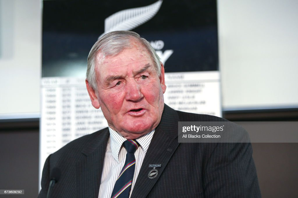 New Zealand Rugby Union AGM : News Photo