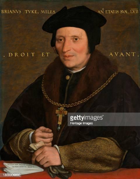 Sir Brian Tuke, circa 1527/1528 or circa 1532/1534. Artist Hans Holbein the Younger. .