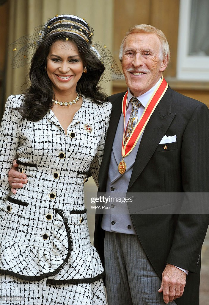 Sir Bruce Forsyth Knighted During An Investiture Ceremony At Buckingham Palace