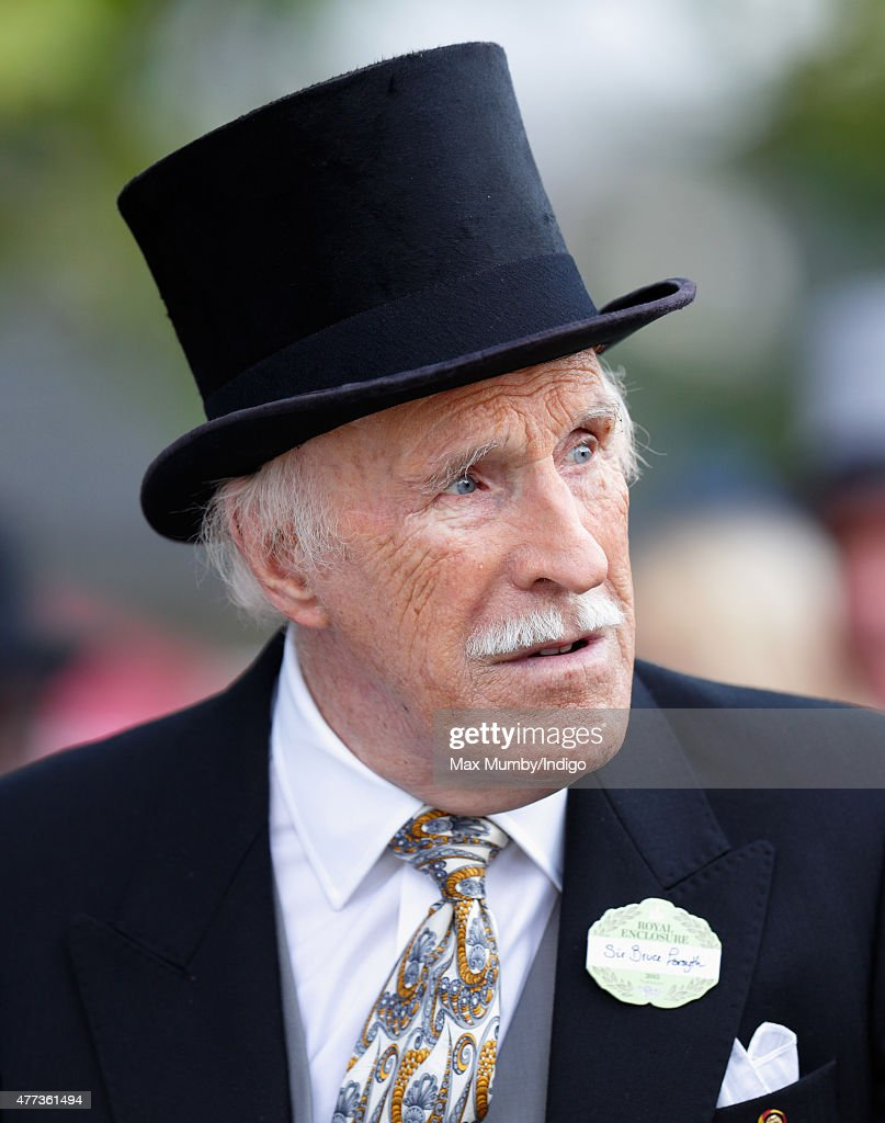 Sir Bruce Forsyth attends day 1 of Royal Ascot at Ascot Racecourse on June 16, 2015 in Ascot, England.