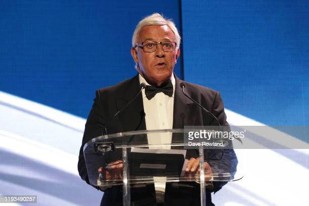 Sir Bryan Williams during the New Zealand Rugby Awards at the Sky City Convention Centre on December 12 2019 in Auckland New Zealand