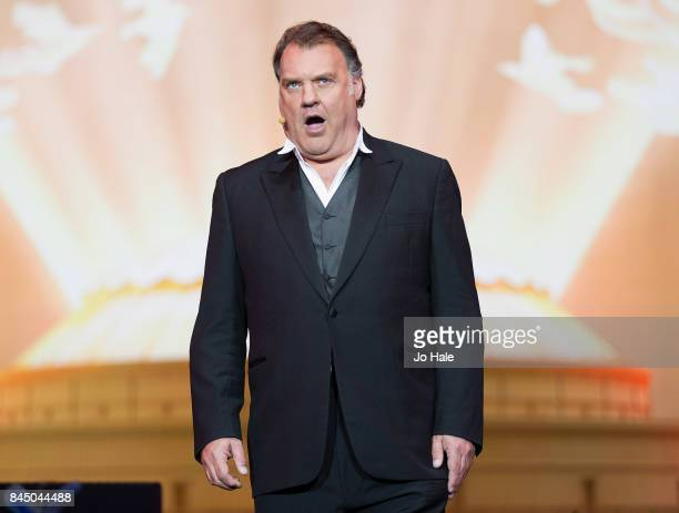 Sir Bryn Terfel performs on stage at The Last Night of the Proms at Royal Albert Hall on September 9 2017 in London England
