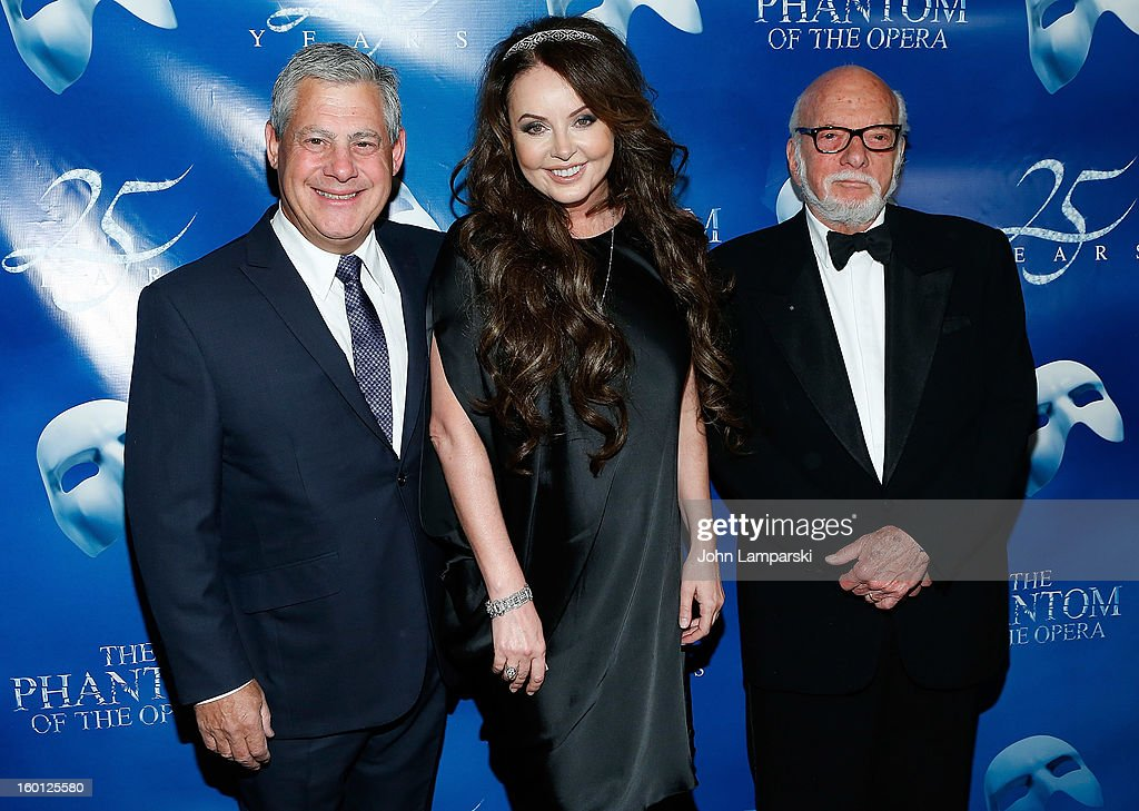 """The Phantom Of The Opera"" Broadway 25th Anniversary - Arrivals"