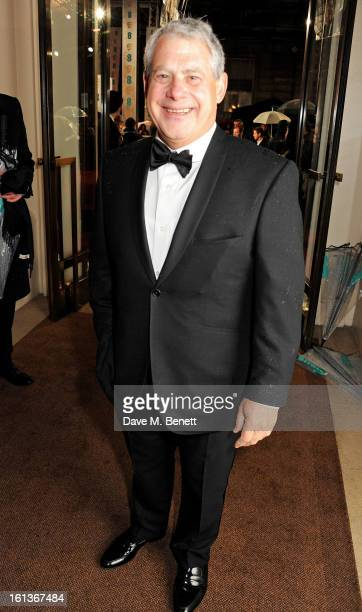 Sir Cameron Mackintosh arrives at the EE British Academy Film Awards at the Royal Opera House on February 10 2013 in London England