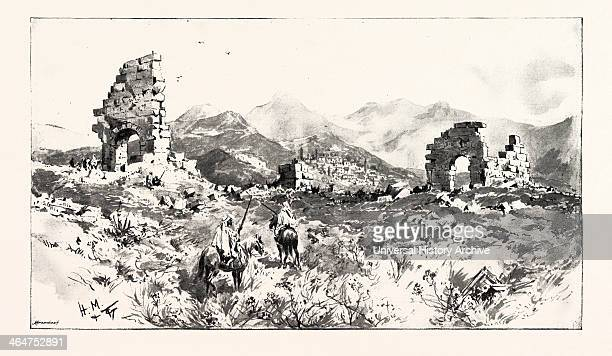 Sir Charles Euan-smith's Mission To The Court Of Morocco: The Ruins Of Volubilis, Near Fez; These Ruins Are About 20 Miles From Fez, And Consist Of...