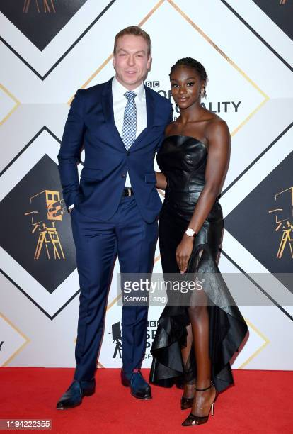 Sir Chris Hoy and Dina AsherSmith attend the BBC Sport Personality of the Year 2019 at PJ Live Arena on December 15 2019 in Aberdeen Scotland