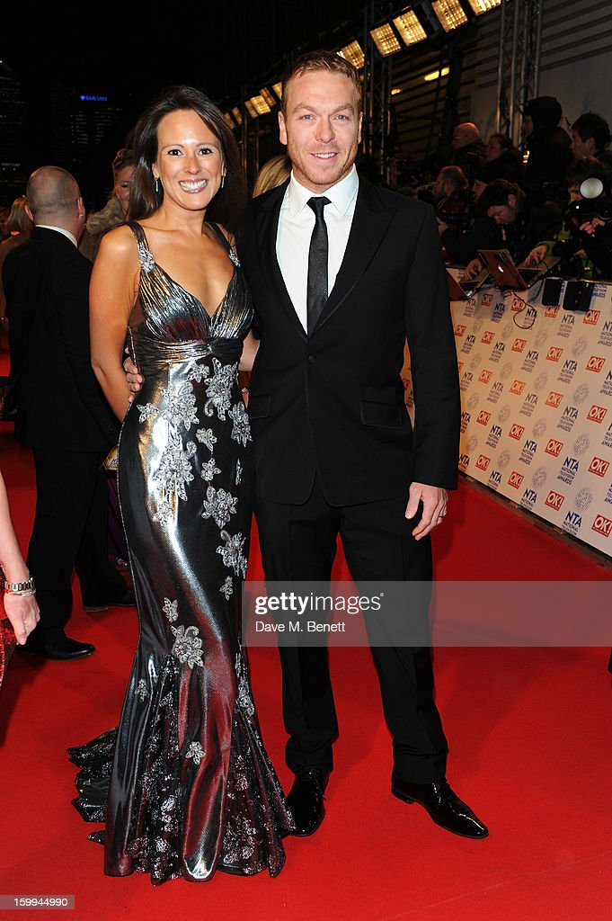Sir Chris Hoy attends the the National Television Awards at 02 Arena on January 23, 2013 in London, England.
