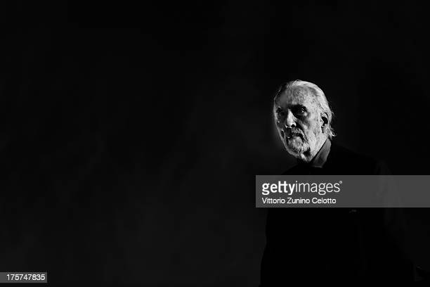 Sir Christopher Lee attends 66th Locarno Film Festival opening ceremony on August 7 2013 in Locarno Switzerland