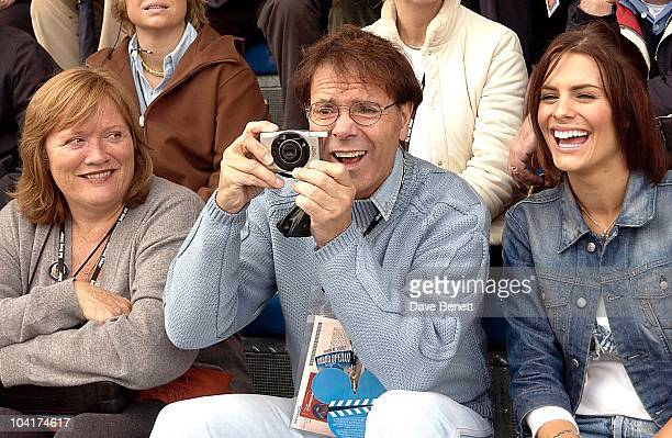 Sir Cliff Richard And Suzy Amy, Disneyland Resort Paris's Tenth Birthday Celebrations And The Launch Of Their New Walt Disney Studios Park In Paris,...