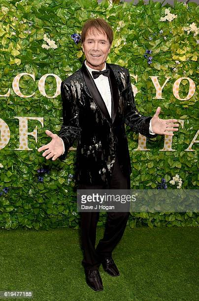 Sir Cliff Richard attends the Daily Mirror Pride of Britain Awards in Partnership with TSB at The Grosvenor House Hotel on October 31 2016 in London...