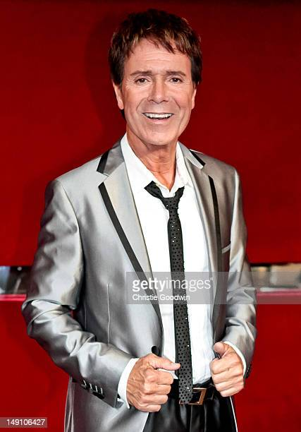 Sir Cliff Richard backstage ahead of the World Hunger Concert Dionne Warwick and Friends at the Royal Albert Hall on May 28 2012 in London England