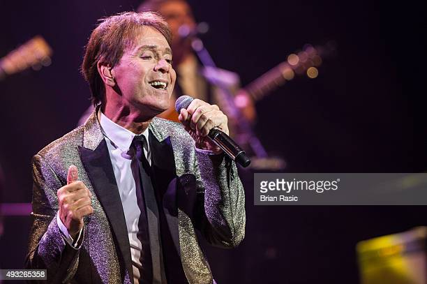 Sir Cliff Richard performs at Royal Albert Hall on October 18, 2015 in London, England.
