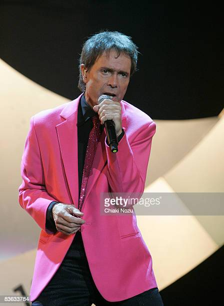 Sir Cliff Richard performs at Wembley Arena on November 10 2008 in London England