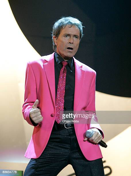 Sir Cliff Richard performs at Wembley Arena on November 10, 2008 in London, England.