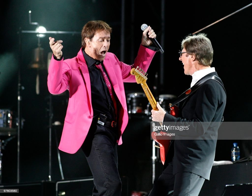 Cliff Richard And The Shadows Perform In Cape Town