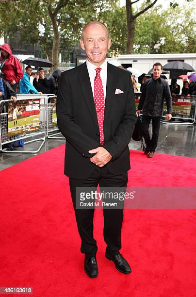 Sir Clive Woodward attends the World Premiere of 'Building Jerusalem' at the Empire Leicester Square on September 1 2015 in London England