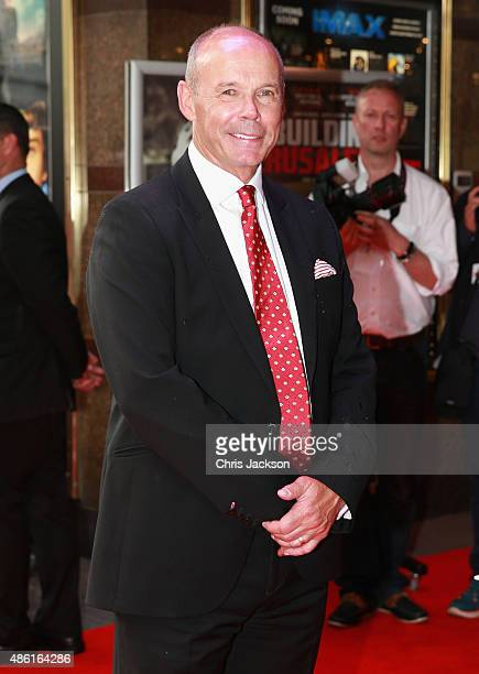 Sir Clive Woodward attends the World Premiere of 'Building Jerusalem' at Empire Leicester Square on September 1 2015 in London England