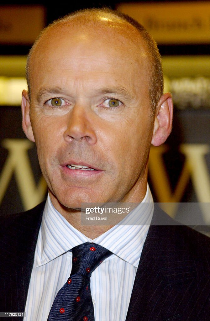 "Sir Clive Woodward Book Signing Of ""Winning"""