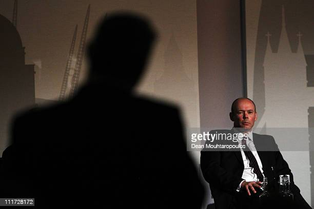 Sir Clive Woodward OBE Director of Sport for the British Olympic Association speaks during a IOC meetings held at the Westminster Bridge Park Plaza...