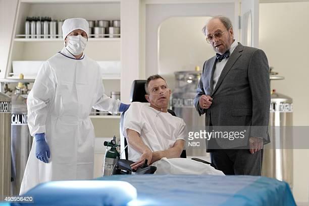 THE BLACKLIST Sir Crispin Crandall Episode 306 Pictured Arnie Kucera Dr Kucera Harris Yulin as Crispin Crandall