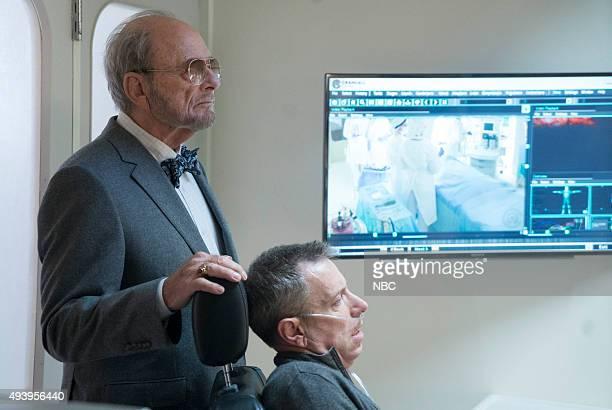 THE BLACKLIST Sir Crispin Crandall Episode 306 Pictured Harris Yulin as Crispin Crandall Arnie Kucera Dr Kucera