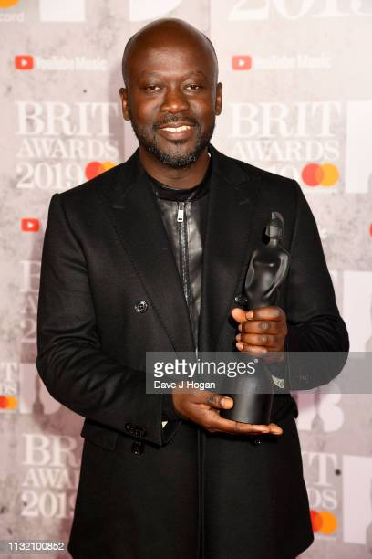 Sir David Adjaye attends The BRIT Awards 2019 held at The O2 Arena on February 20 2019 in London England