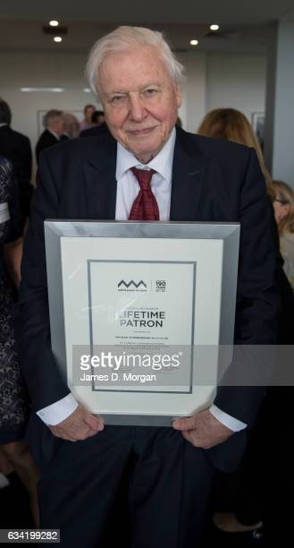 Sir David Attenborough at the Australian Museum to receive a Lifetime Patron award at a special luncheon on February 8 2017 in Sydney Australia Sir...