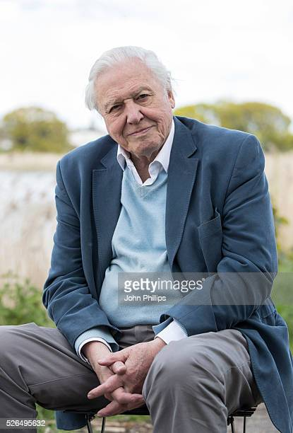 Sir David Attenborough attends the launch of the London Wildlife Trust's new Flagship nature reserve Woodberry Wetlands on April 30 2016 in London...