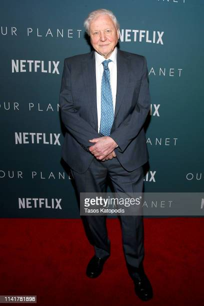 """Sir David Attenborough attends the """"Our Planet"""" Special Screening with Sir David Attenborough at Smithsonian National Museum Of American History on..."""