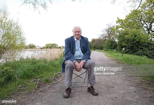 Sir David Attenborough opens Woodberry Wetlands on April 30 2016 in London United Kingdom