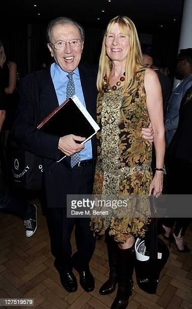 Sir David Frost and Lady Carina Frost attend the Quintessentially Awards 2011 at One Marylebone on September 28 2011 in London England