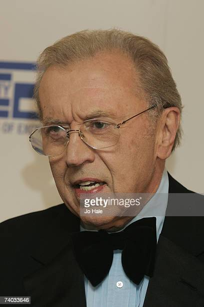 Sir David Frost arrives at the Sony Radio Awards honours the best in radio broadcasting talent at the Grosvenor House Hotel on April 30 2007 in London