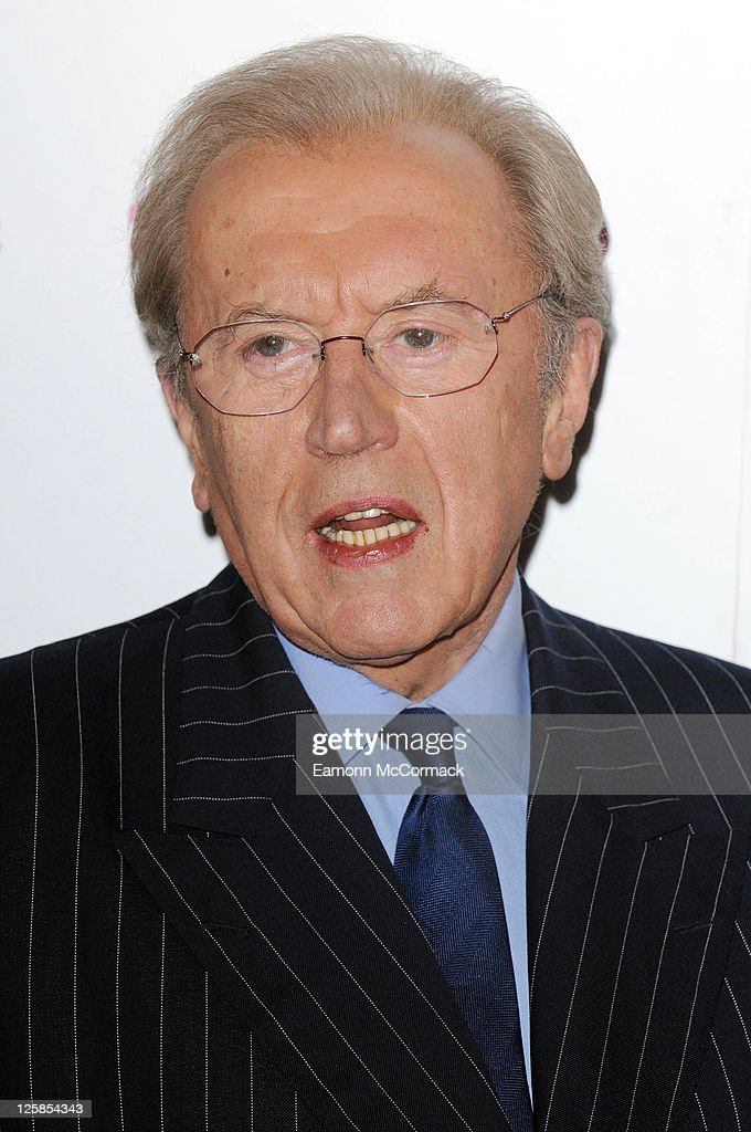Sir David Frost at the South Bank Sky Arts Awards at The Dorchester on January 25, 2011 in London, England.
