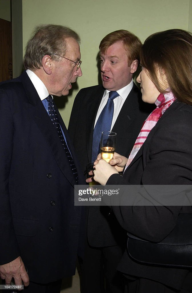 Sir David Frost & Charles Kennedy, Charity Auction For Signed Photos For Twin Towers Fund, At The Royal Academy Of Arts, Piccadilly, London