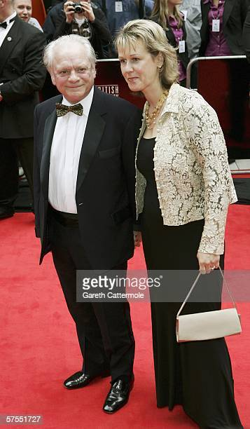 Sir David Jason and wife Gill Hinchcliffe arrive at the Pioneer British Academy Television Awards 2006 at the Grosvenor House Hotel on May 7 2006 in...
