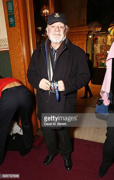 Sir David Jason arrives at a VIP performance of 'Cirque Du Soleil Amaluna' at Royal Albert Hall on January 19 2016 in London England