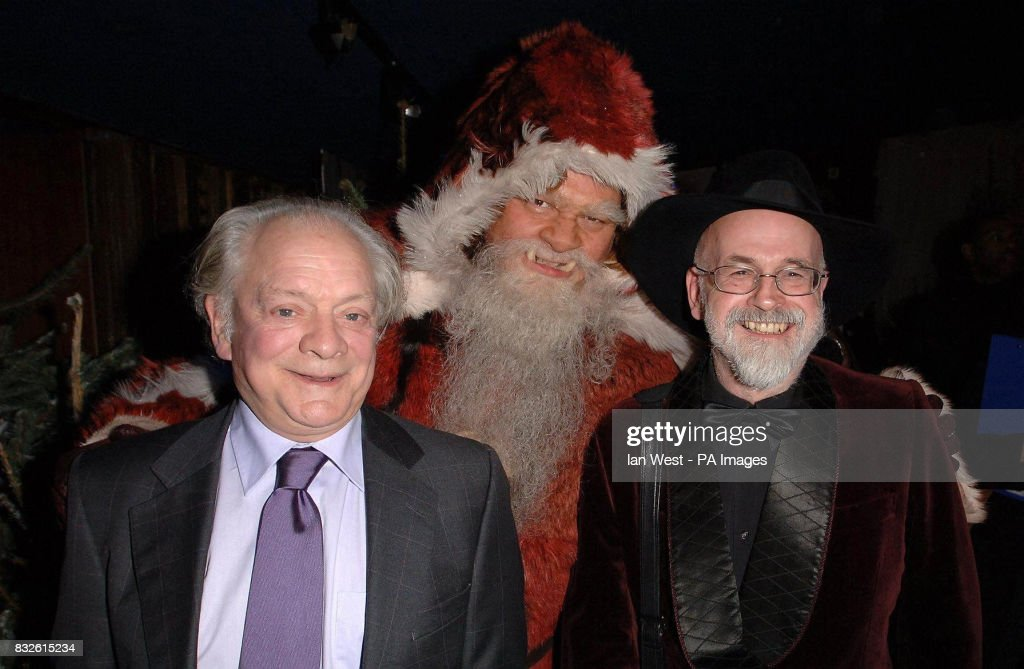 Sir David Jason The Hogfather And Terry Pratchett Arrive Attend The News Photo Getty Images
