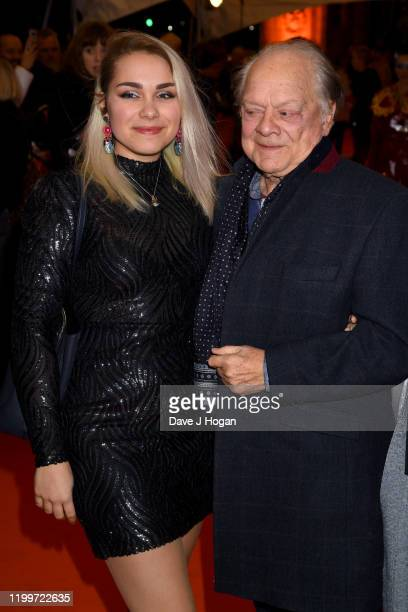 Sir David Jason with his daughter Sophie Mae attends Cirque du Soleil's LUZIA at Royal Albert Hall on January 15 2020 in London England