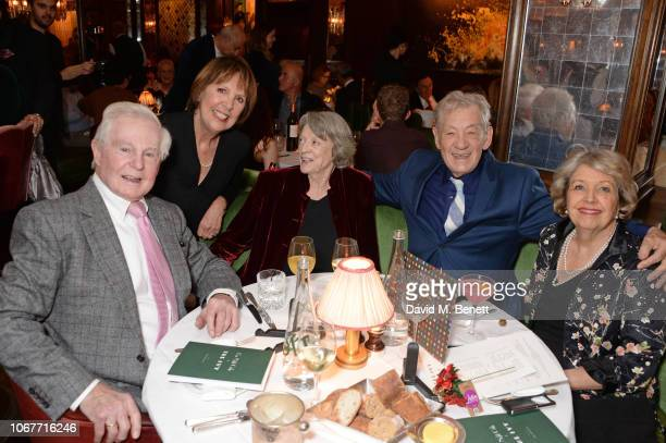 Sir Derek Jacobi Dame Penelope Wilton Dame Maggie Smith Sir Ian McKellen and Anne Reid attend the annual 'One Night Only At The Ivy' in aid of Acting...