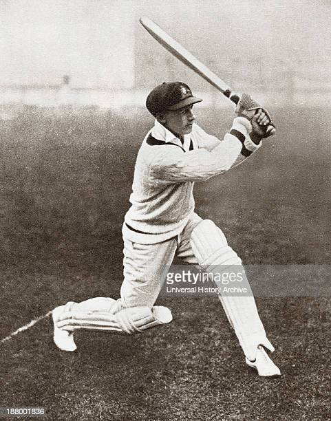 Sir Donald George Bradman 1908 – 2001 Often Referred To As The Don Australian Cricketer Widely Acknowledged As The Greatest Batsman Of All Time From...