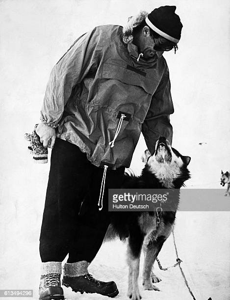Sir Edmund Hillary New Zealand explorer and mountaineer who was one of the first two men to reach the summit of Mount Everest and return He and...