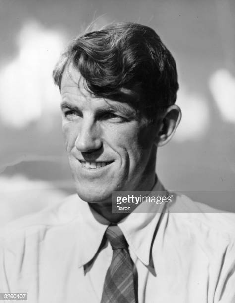 Sir Edmund Hillary the New Zealand mountaineer and explorer who as a member of John Hunt's Everest expedition reached the summit with Sherpa Tensing...