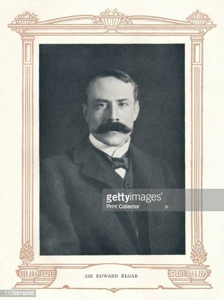 "'Sir Edward Elgar', 1895. From ""The Musical Educator Vol. 4"" edited by John Greig, M.A., Mus. Doc. [Caxton Publishing Company, Limited, London,..."