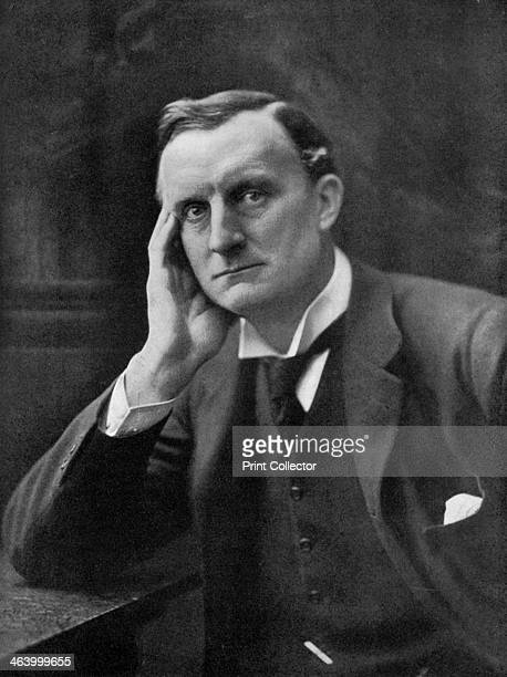 Sir Edward Grey, British politician, . Grey served as Foreign Secretary from 1905-1916. Illustration from The Illustrated War Record of the Most...