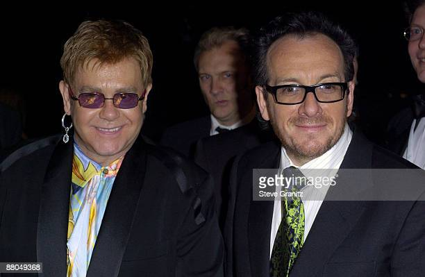 Sir Elton John and Elvis Costello